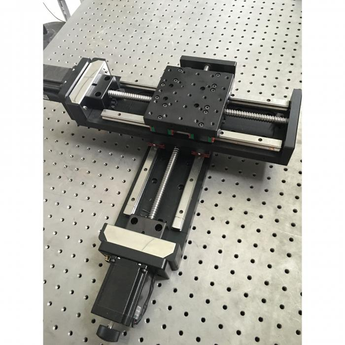 Motorized XY Micro Positioning Table: J03DP-XY1010